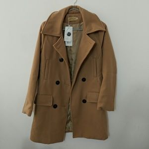 Double Breasted Coat from Korea